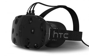 HTC Vive virtual reality device