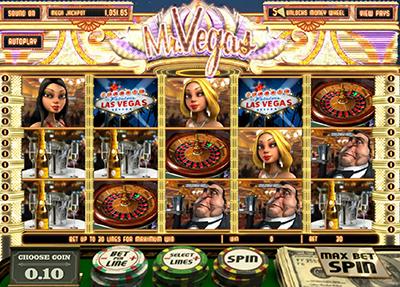 Mr Vegas 3D online progressive pokies