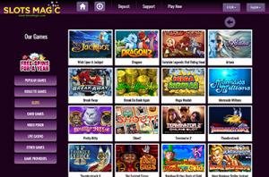 Slots Magic desktop casino