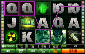The Incredible Hulk pokies by Playtech