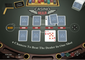 Casino War at Wintingo online
