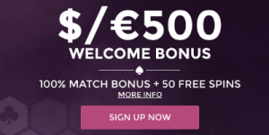 Wintingo welcome bonus for new members