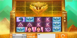 Phoenix Sun online pokies by QuickSpin