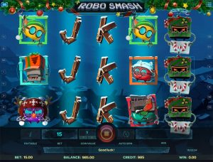 Robo Smash online pokies by iSoftBet