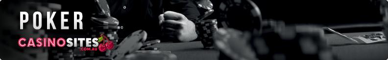 AUD poker casino sites