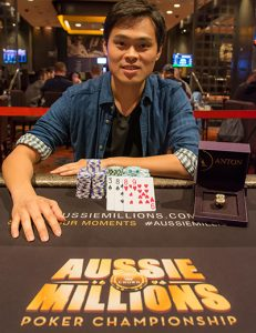 James Chen Aussie Millions Poker