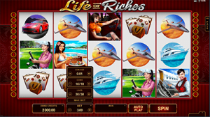 Life of Riches online slot by Microgaming software
