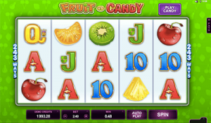 Fruit vs Candy online pokies