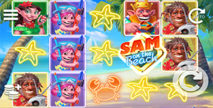 Sam on the Beach online pokies by Elk Studios