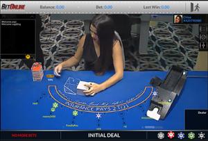 ViG BetOnline live blackjack