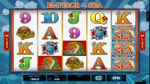 Emperor of the Sea pokies by Microgaming casino software