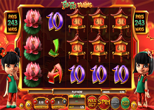 Fa Fa Twins 3D online pokies by Betsoft