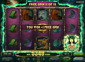 Free spins feature Jade Magician online pokies
