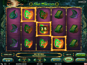 Jade Magician online pokies by Play'n Go gaming software