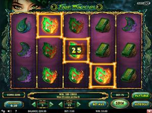 Jade Magician online pokies by Play'n Go gaming software
