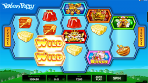 Pollen Party online pokies by Microgaming