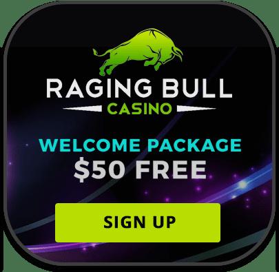 Raging Bull iOS mobile casino