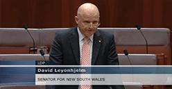 Senator Leyonhjelm