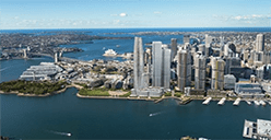 Barangaroo Sydney views