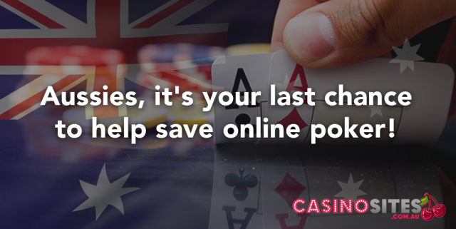 Save online poker in Australia