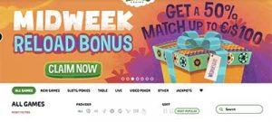 Mucho Vegas midweek bonus
