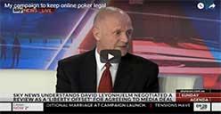 Senator David Leyonhjelm fight for poker