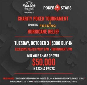 PokerStars raises funds for Irma relief