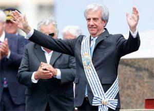 Uruguayan President, Tabaré Vázquez