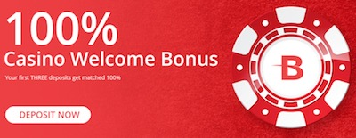 BetOnline welcome bonus