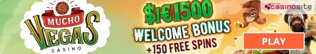 Mucho Vegas welcome bonus