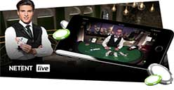NetEnts live blackjack