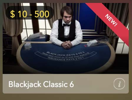 Online blackjack classic 6