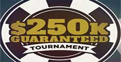 $250 GTD poker tournament