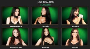 Live dealer Wild Casino