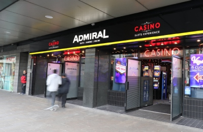 Admiral slots casinos in the UK