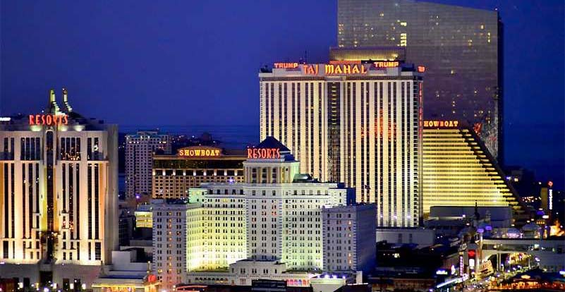Atlantic City gambling venues