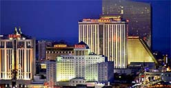 Atlantic City gambling statistic for 2017