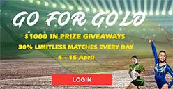 Casino Mate bonus offer for Commonwealth Games