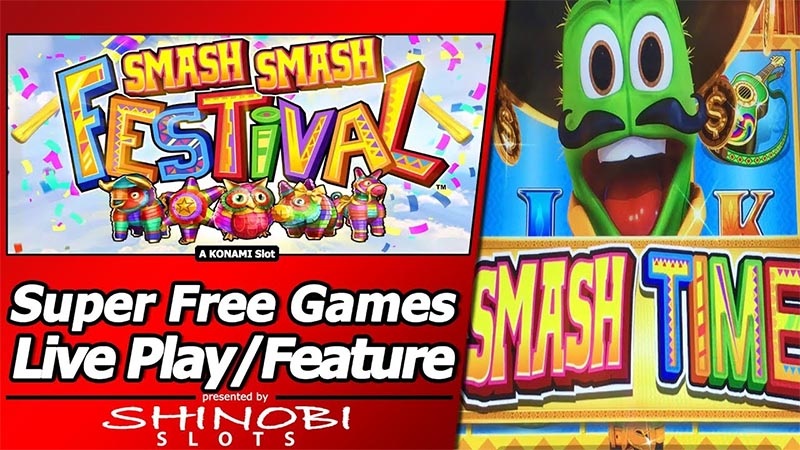 Smash Smash Festival slot game