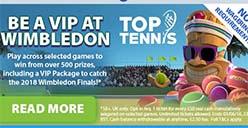BGO Wimbledon promotion 2018