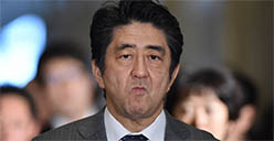 Shinzo Abe gambling