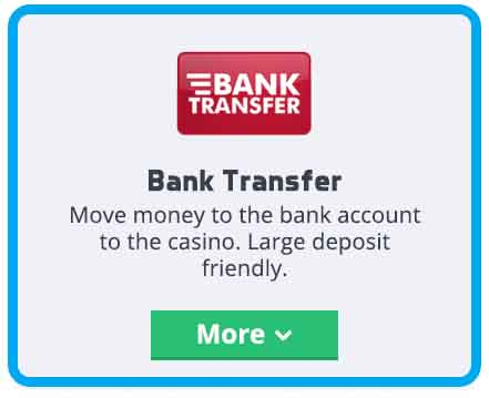 Local bank transfers blackjack australia