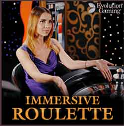 Immersive Roulette by Evolution for Australia