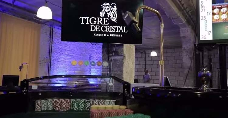 Tigre de Cristal casino wins award