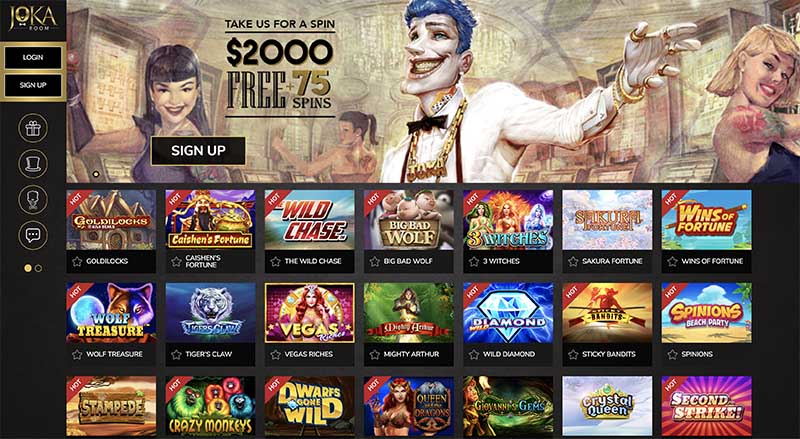JokaRoom.com casino for Australians