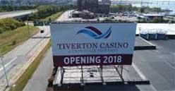 Tiverton Casino opens on Rhode Island USA