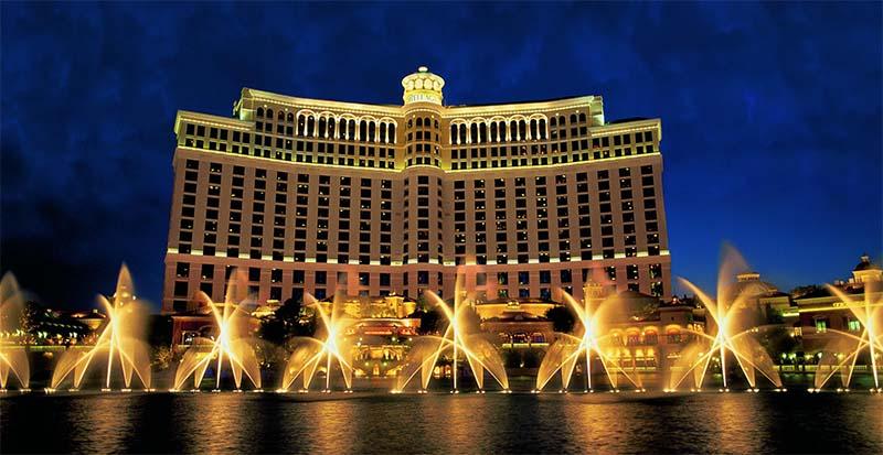 Nevada's Bellagio hotel craps scam