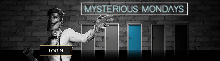 Mystery bonus offers every Monday