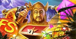 Up to 100 free spins on Ogre Empire