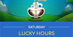 Up to 300 free spins every Saturday